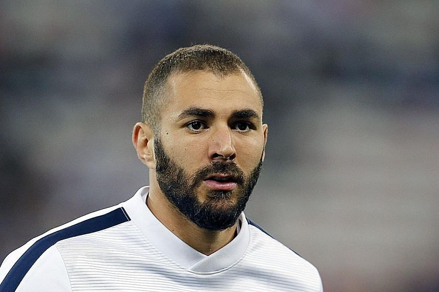 Investigators are trying to determine the extent of Karim Benzema's (top) involvement in a months-long attempt to extort money from France international Mathieu Valbuena after a sex tape found its way into the hands of a group of blackmailers.