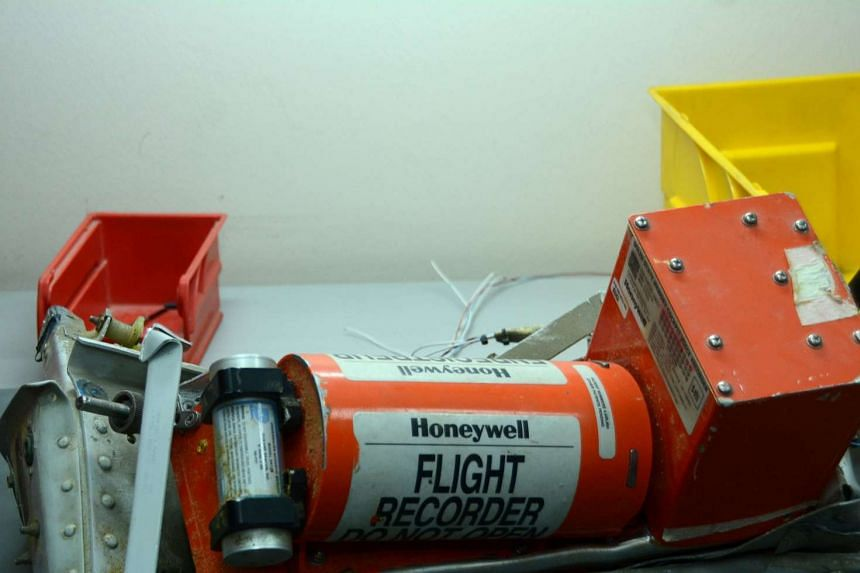 One of two black boxes from the Airbus A321 Russian airliner that crashed in the Sinai peninsula.