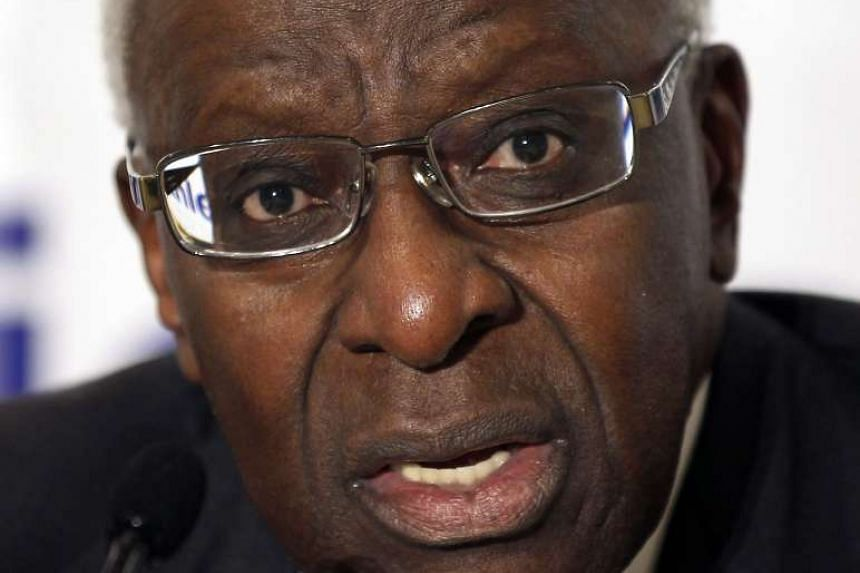 Lamine Diack (above) and his legal adviser, Habib Cisse, were charged with corruption, money laundering and conspiracy.