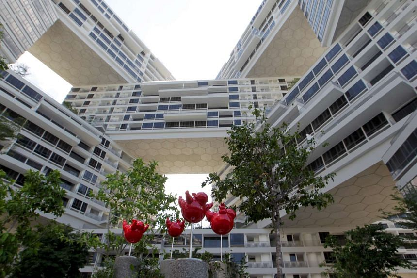 """The Interlace condominium in Depot Road has been lauded by the international architectural fraternity as a """"trailblazer""""."""