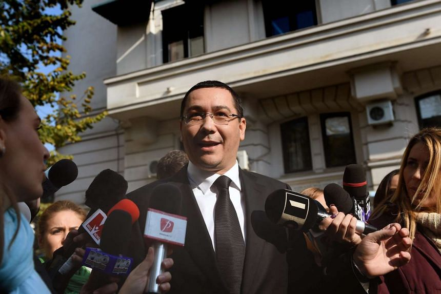 Victor Ponta, who quit as Romania's prime minister this week, made his first court appearance Friday.