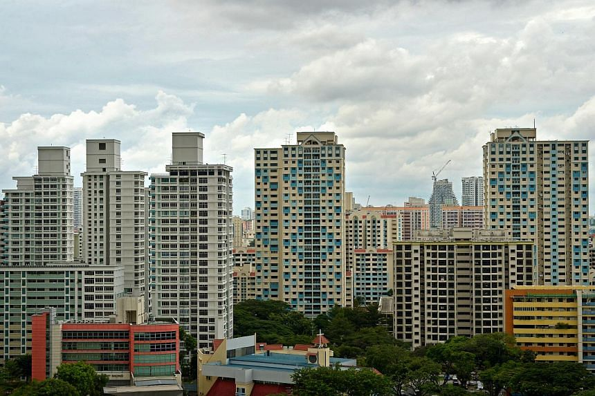 HDB flats in Toa Payoh.