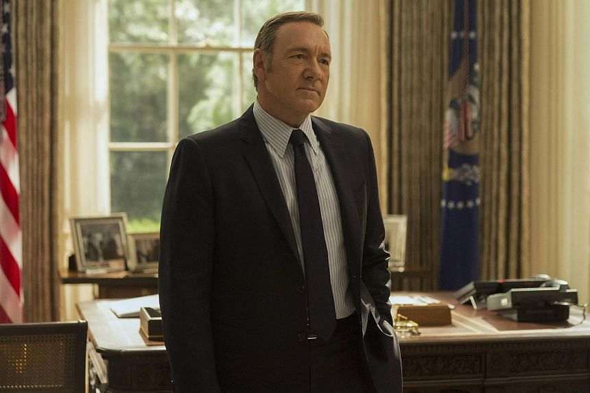 "Netflix's House Of Cards is one series that viewers love to ""binge-watch""."
