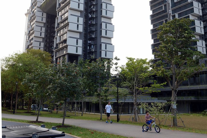 HDB project SkyTerrace @ Dawson (left) and the new National Gallery Singapore (below) also won awards at the GreenUrbanScape Asia exhibition yesterday. Westgate, comprising a shopping mall and office tower beside Jurong East MRT station, won the Outs