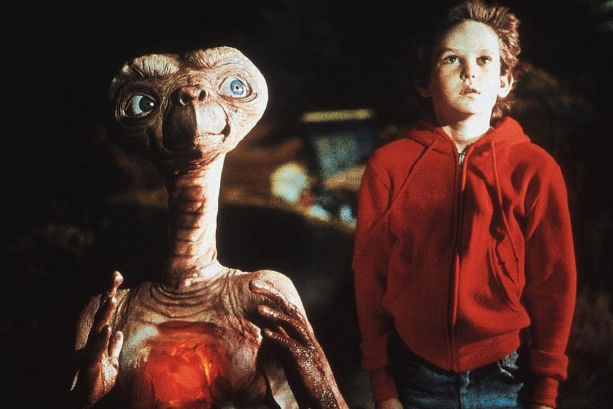Melissa Mathison, who was married to actor Harrison Ford (both below in 1996), wrote the screenplay for movies including E.T. The Extra-Terrestrial (above).