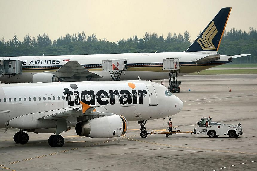 Tigerair's reclassification from an associated company to a subsidiary last month meant an absence of a share of its losses in the quarter, said SIA. All the key units did better compared with a year earlier, except for the parent premium airline, wh