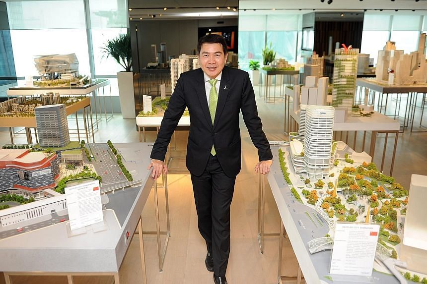 "China's foray into South-east Asia through its ""One Road"" thrust bodes well for CapitaLand's businesses in the region, says the property giant's president and group chief executive Lim Ming Yan."