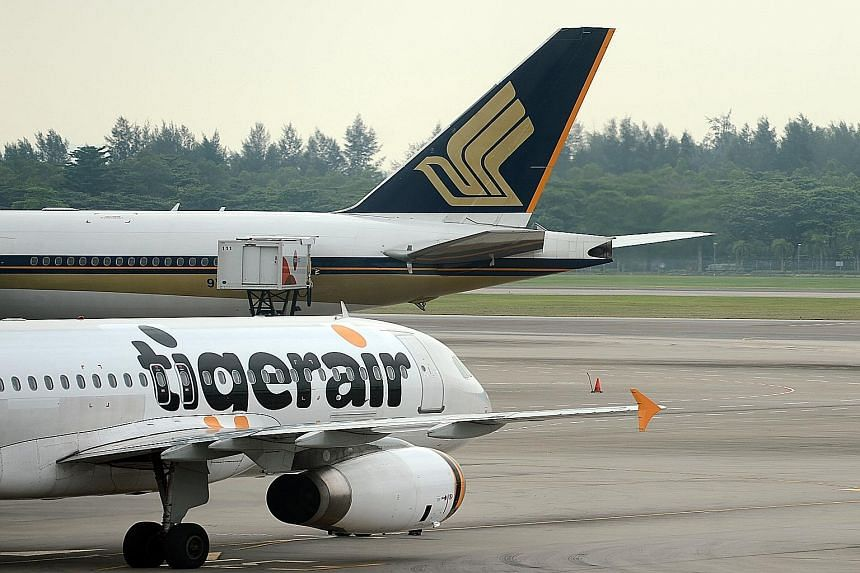 SIA, which owns 55.8 per cent of Tigerair, is offering other stakeholders of the budget carrier 41 cents a share - a 32.3 per cent premium to the closing price of 31 cents on Thursday.
