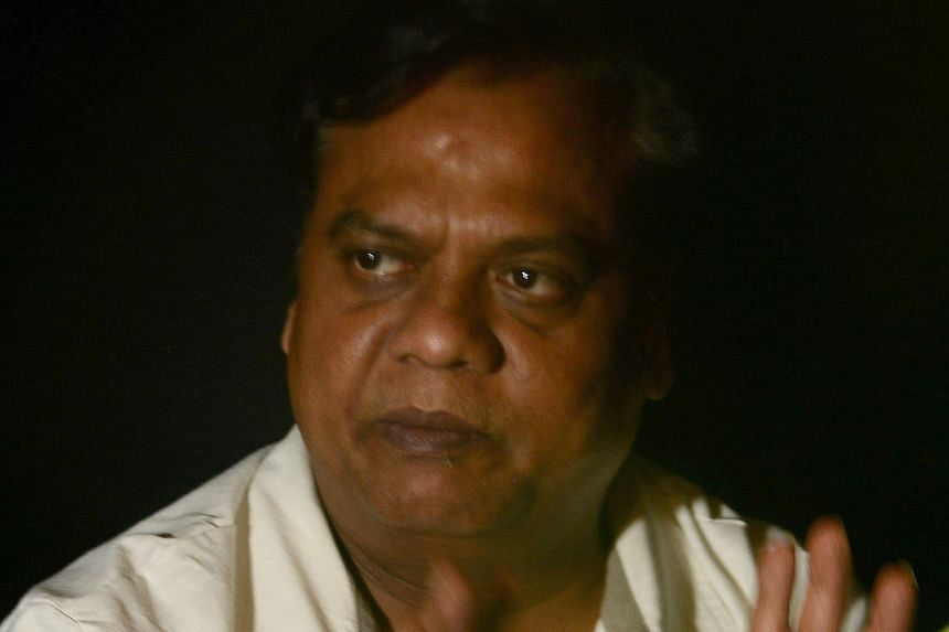 Chhota Rajan after his arrest in Bali. India's police said they had 78 cases registered against him.