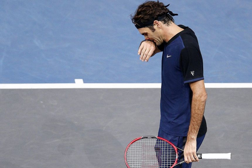 Seventeen-time Grand Slam champion Roger Federer endured a tough time against big-serving 2.08m-tall John Isner. He was knocked out despite holding serve throughout the match in Paris.