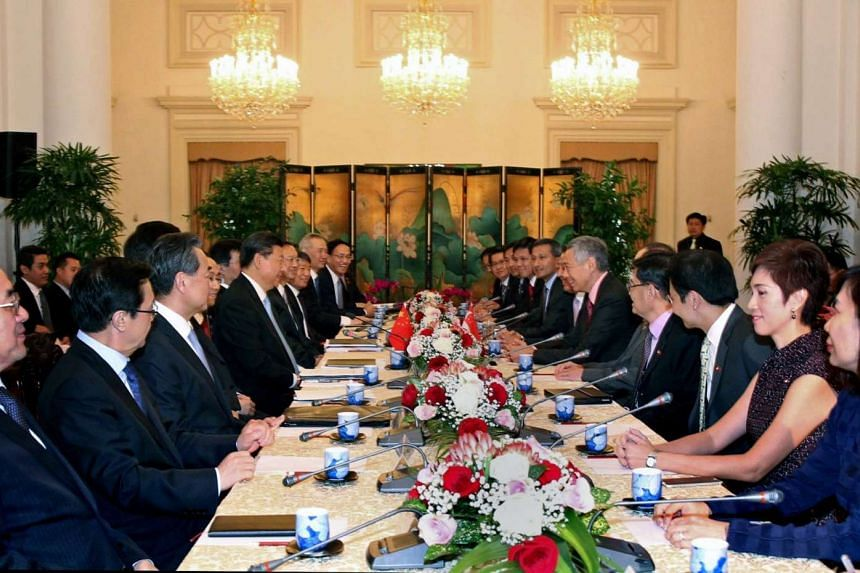 Delegates and ministers from Singapore and China meet and agreed to do more together in multiple areas - trade and business, education, culture, and Government.