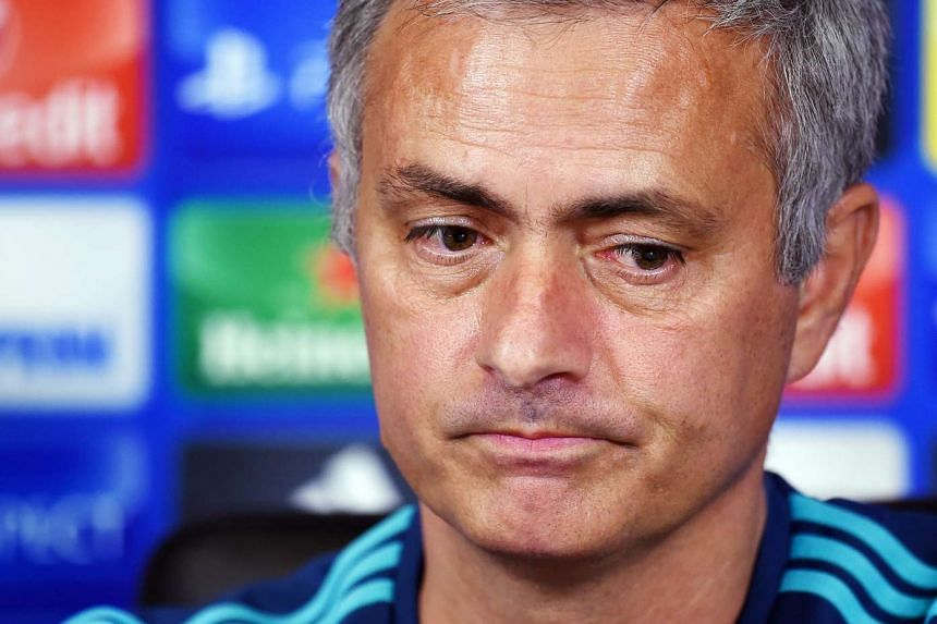Mourinho (above) is said to have aimed a barrage of abuse at a referee.