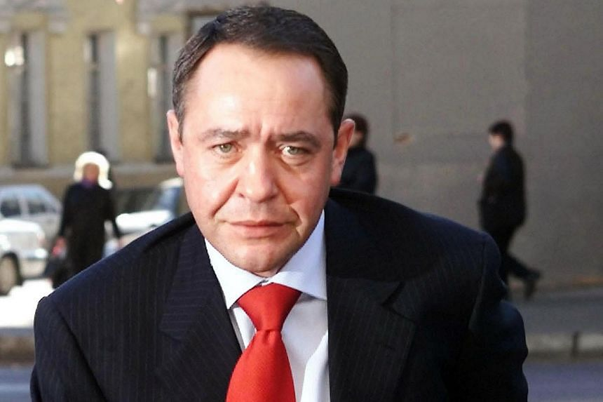 Mr Mikhail Lesin was the Russian government's former head of media affairs.