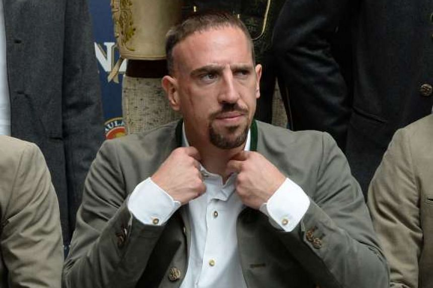 Franck Ribery is seeking US$1.5 million (S$2.1 million) in damages.