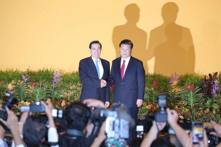 The historic meeting between the leaders of China and Taiwan has been welcomed by the Obama administration.