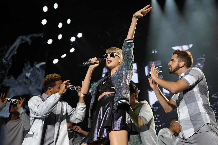 Taylor Swift performs during her sold out show on Nov 8, 2015.