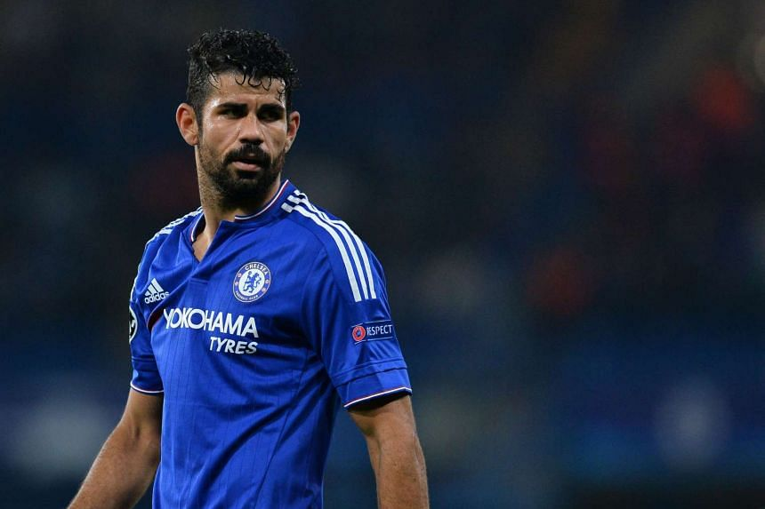 Costa (above) faces the risk of disciplinary action after a steward said he deliberately trod on his foot.