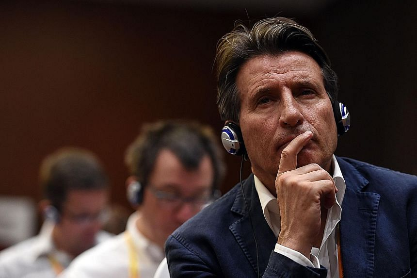 "IAAF boss Sebastian Coe is shocked that administrators ""allegedly extorted money from athletes guilty of doping violations""."
