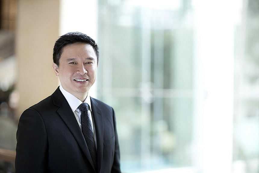 UBS' Mr Edmund Koh attributed the bank's success to training and development.