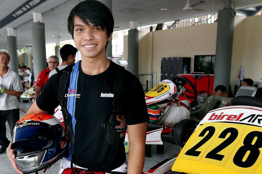 Amin Noorzilan finished 11th and seventh in his two races in Round 3 of the X30 Challenge on Saturday. The 18-year-old has set his sights on becoming a full-time racer.