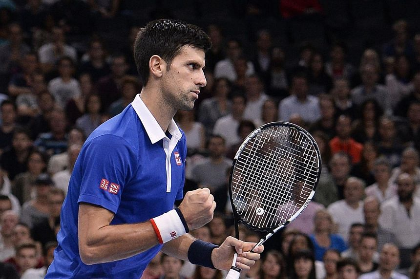 World No. 1 Novak Djokovic is the clear favourite for the ATP World Tour Finals in London after a comfortable 6-2, 6-4 win.