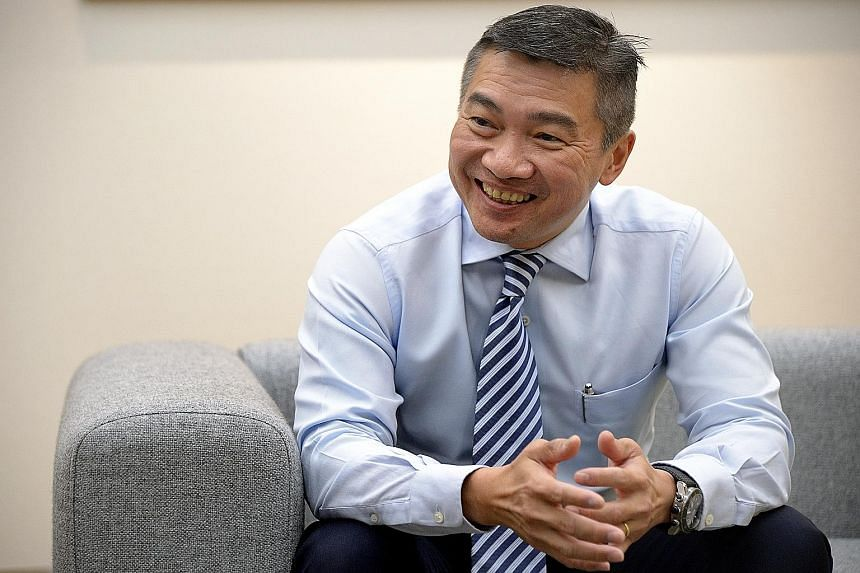 Veteran banker Loh Boon Chye has spent 26 years in the financial industry. He took over as SGX chief in July.