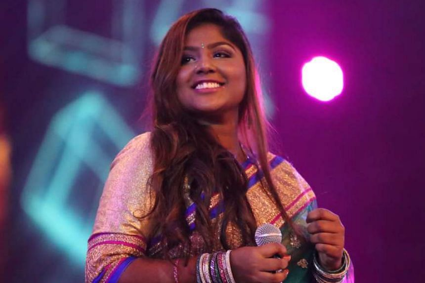 Student Subashini Sundaram's dream is to record albums.