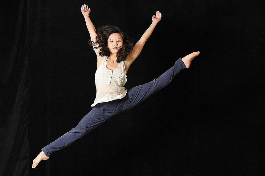 Christina Chan is choreographing half of Flux Of Time.