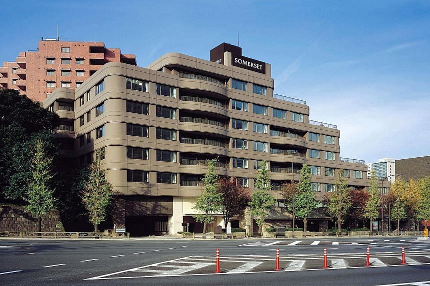 The Somerset Shinagawa Tokyo will have reconfigured apartments. Work is expected to be completed by the end of next year.