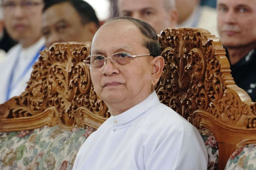 Myanmar President Thein Sein will only meet opposition leader Aung San Suu Kyi after the final results of the Nov 8 election are tallied.