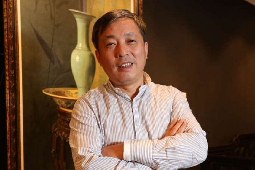 Mr Liu Yiqian has a personal wealth of US$1.38 billion (S$1.96 billion), according to Forbes magazine.