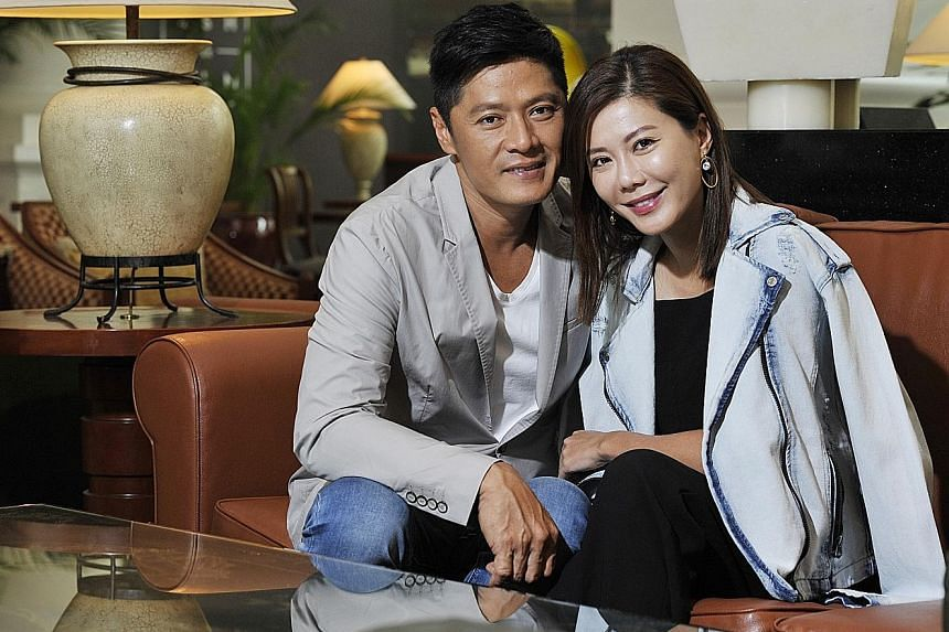 LNX Global's founder Li Nanxing signed on actress Constance Song (both above) earlier this year.