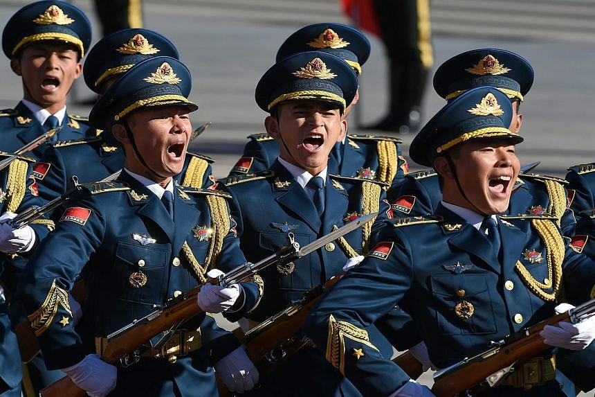 China has to ensure a powerful armed forces commensurate with its place in the world, a senior officer wrote in a new book. Mr Xu Qiliang, a vice-chairman of the Central Military Commission, said a country cannot get rich without decent armed forces.