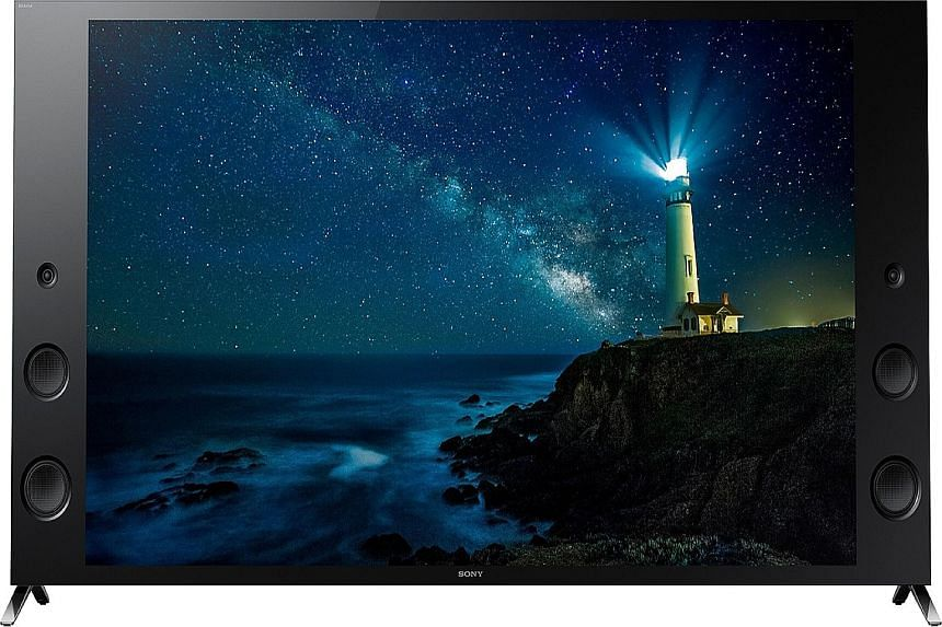 The Sony Bravia 65X9300C features the Android TV operating system and a sharp 4K ultra HD screen.