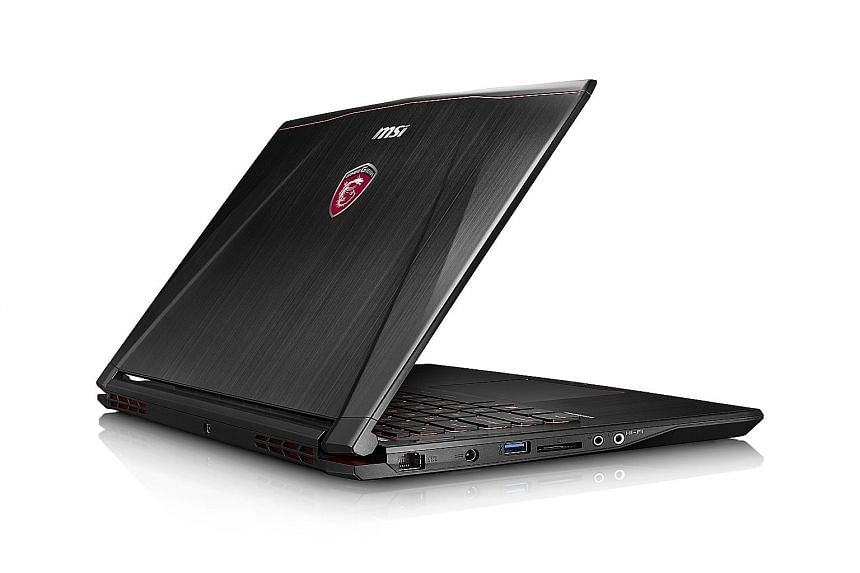 The MSI GS40 6QE Phantom has the latest sixth- generation Intel processor.