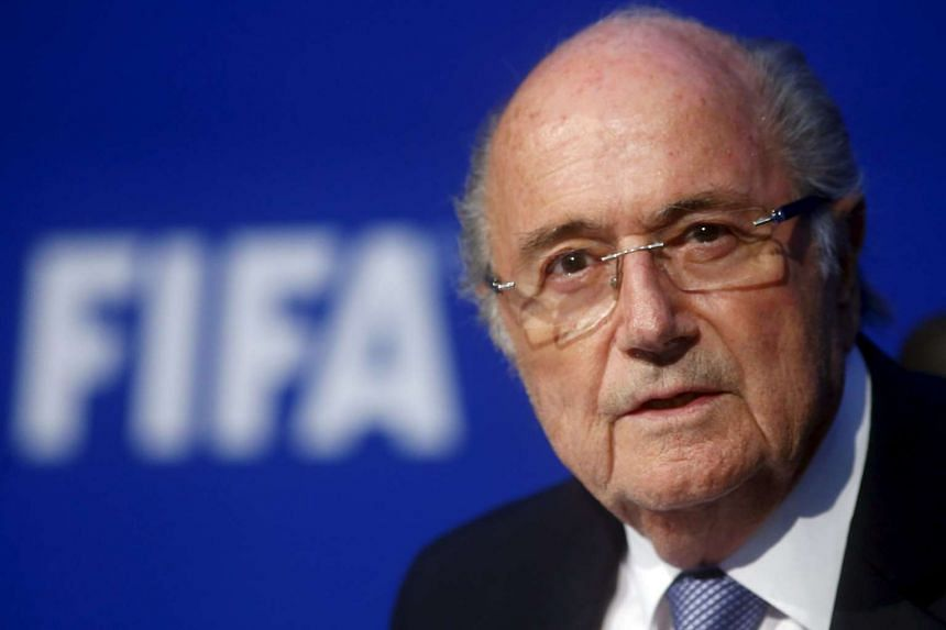 FIFA president Sepp Blatter at a news conference in Zurich, Switzerland, in this July 20, 2015 file photo. Mr Blatter has been hospitalised for medical checks but should be discharged shortly, his lawyer has said.