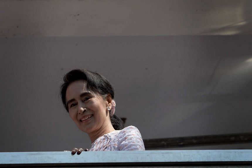Myanmar opposition leader Aung San Suu Kyi retained her rural constituency seat of Kawhmu, election officials announced on Wednesday, Nov 11, 2015.