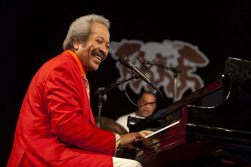 Allen Toussaint performing at the New Orleans Jazz and Heritage Festival in 2010.