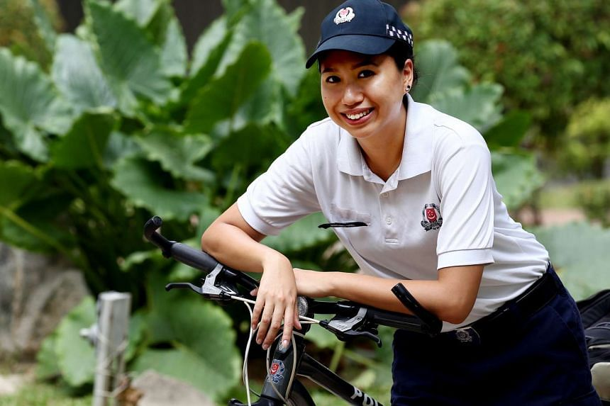 Sergeant Rachel Toh used to skip classes and even dropped out of school.