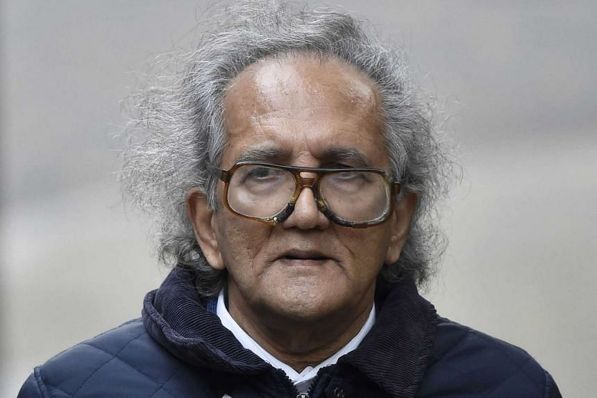 Aravindan Balakrishnan, who is charged with false imprisonment and rape, arriving at Southwark Crown Court in London on Nov 11, 2015.