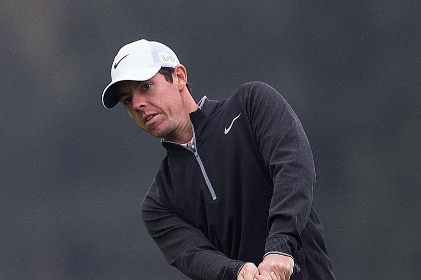 World No. 3 Rory McIlroy hitting an approach shot in the WGC-HSBC Champions last week. He is skipping this week's BMW Masters and will head straight to Dubai for the European Tour Championship finale