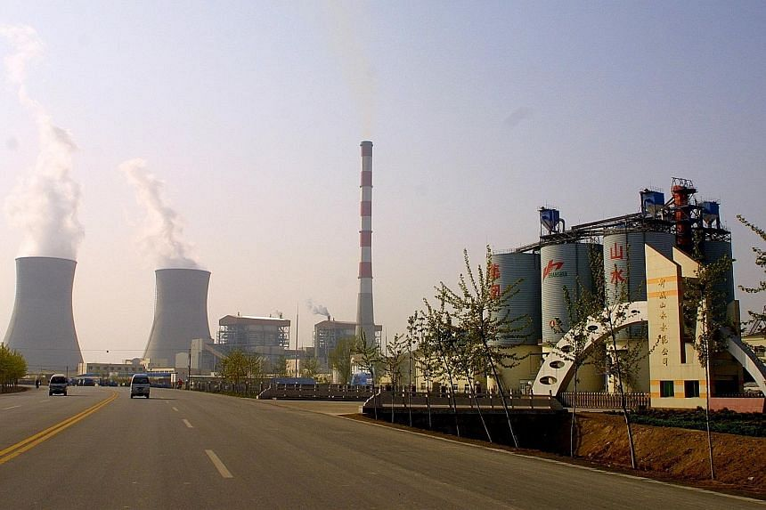 A factory of China Shanshui Cement Group in Liaocheng, Shandong province. The group would be at least the sixth company to renege on obligations in China's onshore bond market this year.
