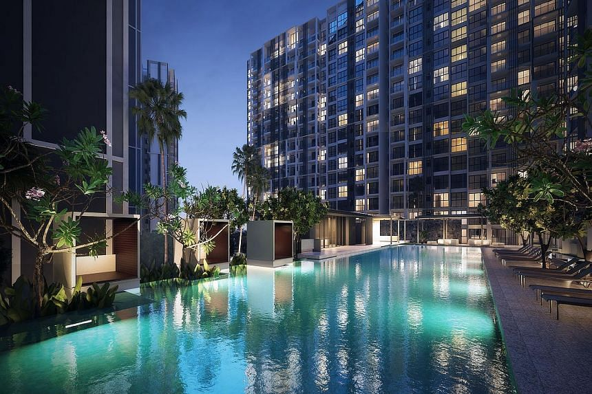 Singapore projects such as Botanique at Bartley contributed the bulk of earnings for property development.