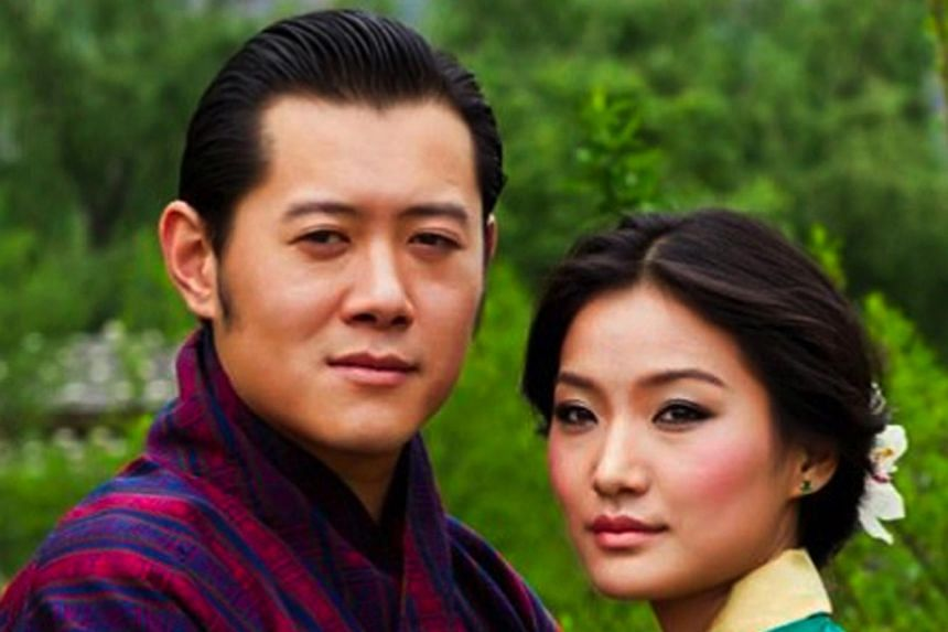 The King and Queen of Bhutan are expecting a son in February next year.