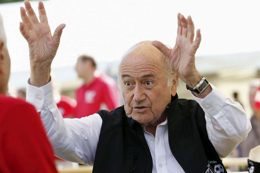 Blatter is in hospital after being placed under medical observation for stress.
