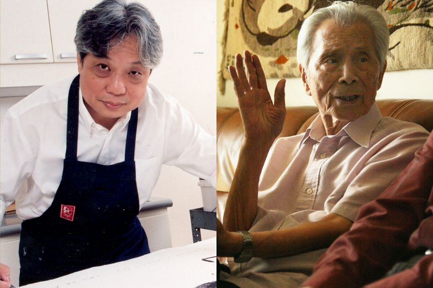 Works of artists Chua Ek Kay (left) and Wu Guanzhong (right) will join the roster of shows opening at the National Gallery Singapore.