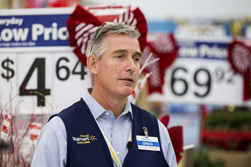 Mr Greg Foran, head of Wal-Mart's US operations, unveils the company's Black Friday plans.