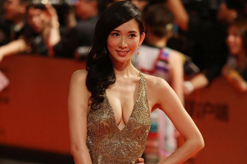 Supermodel Chiling Lin at the Shanghai International Film Festival in June 2014.