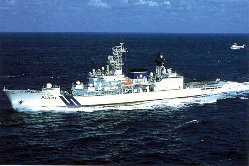 A Japanese coast guard patrol vessel Shikishima.