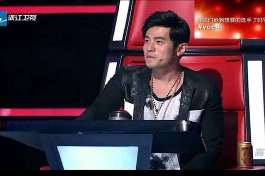 Jay Chou in Season 4 of The Voice of China.